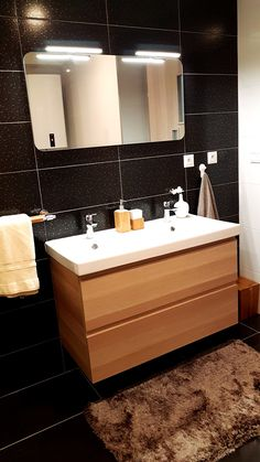 #Bathroom #Apartmanica #Donovaly #ApartmentForRent Double Vanity, Bathroom, Washroom, Bath Room, Bathrooms, Downstairs Bathroom, Double Sink Vanity, Full Bath, Bath