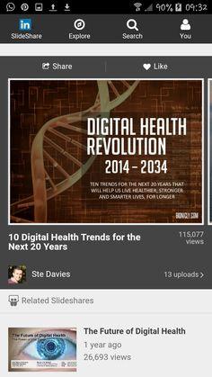 Digital health trends Health Questions, Health Trends, Health And Wellbeing, Healthy Living, Digital, Board, Healthy Life, Healthy Lifestyle