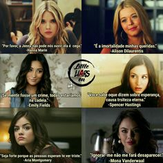 Pretty Little Liars frases Hanna Marin, Hanna Pll, Pretty Little Liars Meme, Pretty Little Lies, Pretty Little Liars Spencer, Spencer Hastings, Pll Memes, Liar Game, I Have A Secret