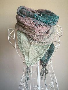 Vario-Loop stricken mit 1 Woolly-Hugs-Bobbel-Cotton mit Veronika Hug