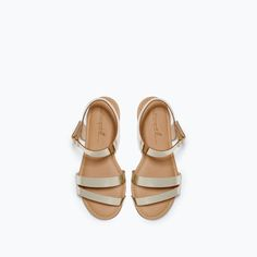 BRAIDED T-BAR SANDALS-Shoes-Girl-SHOES & BAGS | ZARA United States