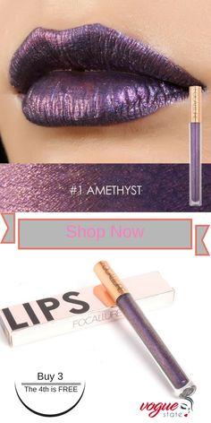 beautiful makeup looks Best Matte Lipstick, Metallic Lipstick, Matte Lip Gloss, Lipstick Colors, Lip Colors, Orange Lips, Skin Makeup, Beauty Makeup, Lipgloss