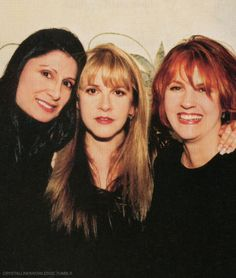 Sharon Celani, Stevie  ~ ☆♥❤♥☆ ~    and Lori Perry-Nicks, 2001 ~ friends, and stage besties