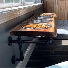 Items similar to Rustic Gray Reclaimed Barn Wood Sofa Bar Table - 6 Foot on Etsy Barn Wood Bathroom, Bathroom Wood Shelves, Wood Floating Shelves, Wood Kitchen Cabinets, Cat Shelves, Wood Shelf, Structure Wood, Sofa Bar, Xl Sofa