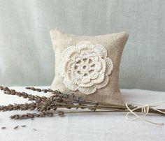 Natural Linen Lavender Sachets/ Eco Friendly Gifts / Wedding Favor / Natural…