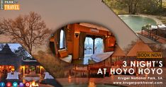 Hoyo Hoyo #Safari Lodge in the #Kruger Park offers the following Facilities & Activities: Swimming pool, SPA Treatments, Relaxing Lounge Area, Bush Walks, etc. Enquiry for 3 night's at Hoyo Hoyo Package On http://bit.ly/2JLLGHw