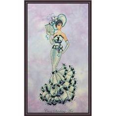 Audrey My Fair Lady - Cross Stitching Art