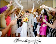 Paris Mountain Photography Destination Wedding Bahamas Beach Wedding Send Off Ribbons Wedding Send Off, Wedding Exits, Destination Wedding, Mountain Photography, Travel Photography, Bahamas Beach, Ribbons, Real Weddings, Cool Photos
