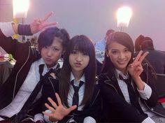 Sae Miyazawa, Yuko Oshima, Sayaka Akimoto #AKB48