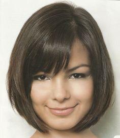 Image result for corte chanel para rosto redondo