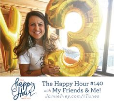 The Happy Hour with Jamie Ivey podcast - episdoe #140: The Happy Hour is THREE! To celebrate, I invited some of my closest friends and biggest encouragers to join me for a real life happy hour. We met at Chicon, one of my favorite restaurants in Austin and celebrated all that The Happy Hour has become over the last three years. In today's show, you'll get an inside peek into the celebration and my relationships with some of my favorite people. I pull a few friends in to ask me a few…