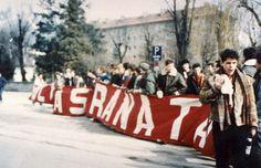 CORTEO ULTRAS GRANATA TRASFERTA A INSBRUCK 1987