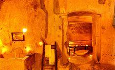 Sextantio Le Grotto Della Civita in Italy -- Babble.com's best-hotel-bathrooms