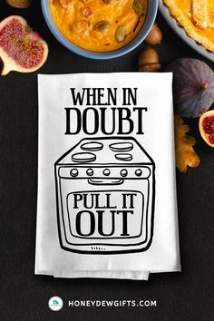 Looking for a gift for you BFFs. Giving her one of these funny quotes kitchen towels will surely crack her up, especially with the message. Having a few of these sarcastic kitchen towels in your home is an inexpensive way to create a fun vibe. You can use it as a wall banner, dining napkins, mats, or accents to your oven or cabinet handles.Giving one of these funny dish towels with sayings makes a hilarious gift to your siblings, friends, or coworkers who appreciate your silly antics.