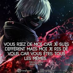 Quotes Anime Mangas Motivation Values Inspiration Private Growth Manga Anime, Sad Anime, Otaku Anime, Ken Tokyo Ghoul, Manga Quotes, Kaneki, Proverbs, Motivation, Words
