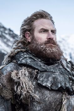 Kristofer Hivju as Tormund in Game of Thrones Game Of Thrones Cast, Game Of Thrones Funny, Game Of Thrones Characters, Winter Is Here, Winter Is Coming, Got Serie, Acteurs Game Of Throne, Kino Theater, Dessin Game Of Thrones