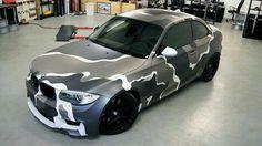 How To Paint Camo, Camo Truck, Car Tattoos, 135i, Bmw 1 Series, Bmw M4, Futuristic Cars, Kraken, Car Wrap
