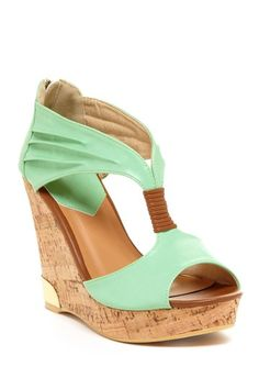 Bucco Auden Platform Wedge by Wedges We Love on @HauteLook