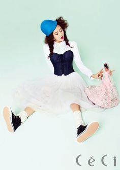 2Yoon's Ga Yoon CéCi Korea Magazine