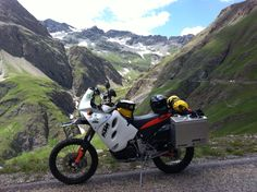 Ktm 640 adventure French alps