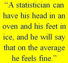 statistics humor - is there such a thing as statistics humor? YES!