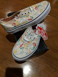 78dc80eda00c Brand new with tags   in box Disney Ariel VANS. YOUTH girls size No longer  made or sold in stores.