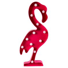 FLAMINGO LED LIGHT WALL DECORATION PINK - Sass & Belle  Product Info Dimensions - 50.5 x 22 x 5 cm Material - Metal Colour - Pink Sass & Belle Collection - Tropical Summer  Here at Emaykays Happy Place we love all things flamingo! We absolutely love this charmingly stylish hot pink LED light. It comes with big bulbs and an attachment to hang it on the wall. Requires two AA batteries. Batteries not included
