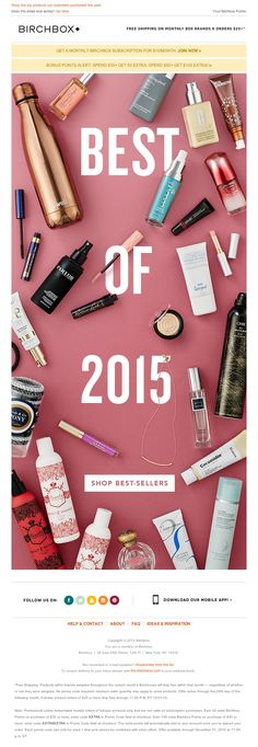 Birchbox - Meet The Most Popular Products of 2015