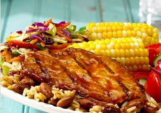HMR Entree Recipe: Simple Summer Barbecue