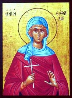 St. Euthalia the Martyr (Feast day: 2nd March)