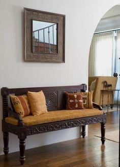 Sofa Design, Furniture Design, African Home Decor, Indian Home Decor, Estilo Colonial, Spanish Colonial, Spanish Revival, African Interior Design, African Design