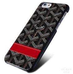 GOYARD Print Black Belt red iPhone Cases Case