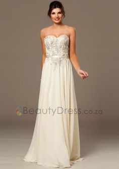 Cheap evening gowns china, Buy Quality elegant evening gowns directly from China formal evening dress Suppliers: Ivory Sexy Backless Chiffon Women A Line Long Formal Evening Dresses Elegant Evening Gowns China Designer Evening Dresses, Cheap Evening Dresses, Evening Gowns, Nice Dresses, Formal Dresses, Prom Dresses Jovani, Beaded Prom Dress, Strapless Dress Formal, Chiffon Gown