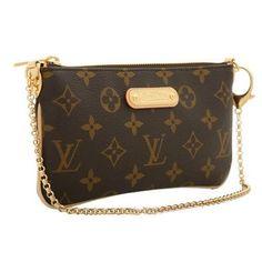 Louis Vuitton Brown Wristlet $424