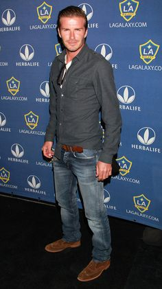 David Beckham. Who is his stylist?? Victoria??