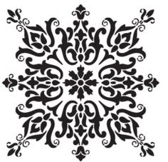 stencil patterns for furniture << craftylaser motif medallion window screen: Stencils, Damask Stencil, Stencil Patterns, Stencil Art, Stencil Designs, Islamic Pattern, Craft Robo, Motifs Islamiques, Decoupage