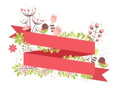 Learn how to make this simple spring postcard in vector in my tutorial @Tuts+