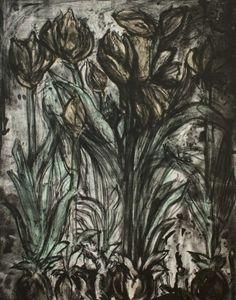 RA Summer Exhibition 2015 work 16 :NIGHT by Jim Dine Hon RA, £6900.