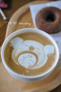 コアラのかぶりものの女の子 ♥ Coffee
