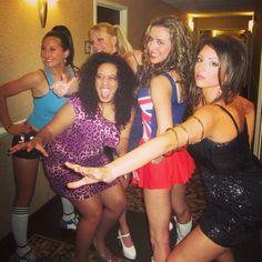Halloween group costume -spice girls! #spicegirls #costumes #halloween