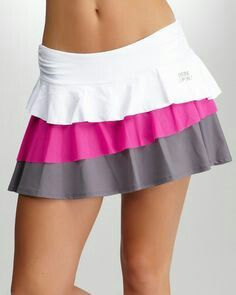Teared skirt - falda en tiras a desnivel