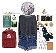 """""""Even the moon hates me"""" by bananzah ❤ liked on Polyvore"""