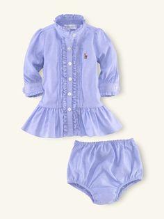 Polo blue dress