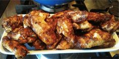 Angus and Oink Chicken Wings