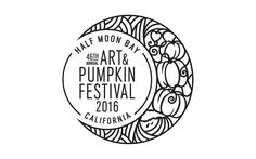 2016 Logo Entry for the 46th Annual Half Moon Bay Art and Pumpkin Logo Contest.