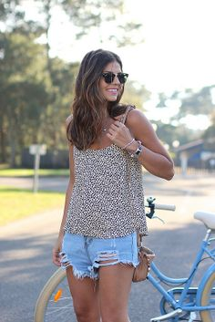 cheetah & cutoffs
