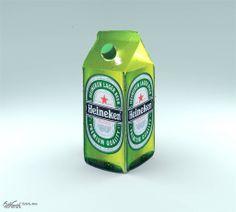As Fresh As It Gets. - Heineken - Corporate Storytelling - Powered by DataID Nederland Corporate Storytelling, Beer Quotes, Beer Humor, San Pellegrino, Beer Bottle, Dutch, Fresh, Drinks, Funny