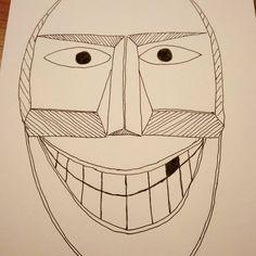 Buso mask #sketch #sketchdrawing  #sketching #drawing  #illustration