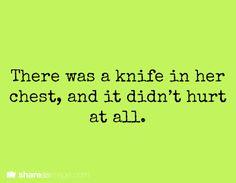 It didn't hurt.