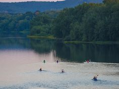 Bucknell students dig, paddle and climb their way to understanding the changing Earth.